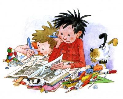 Комические пары в русской детской литературе
